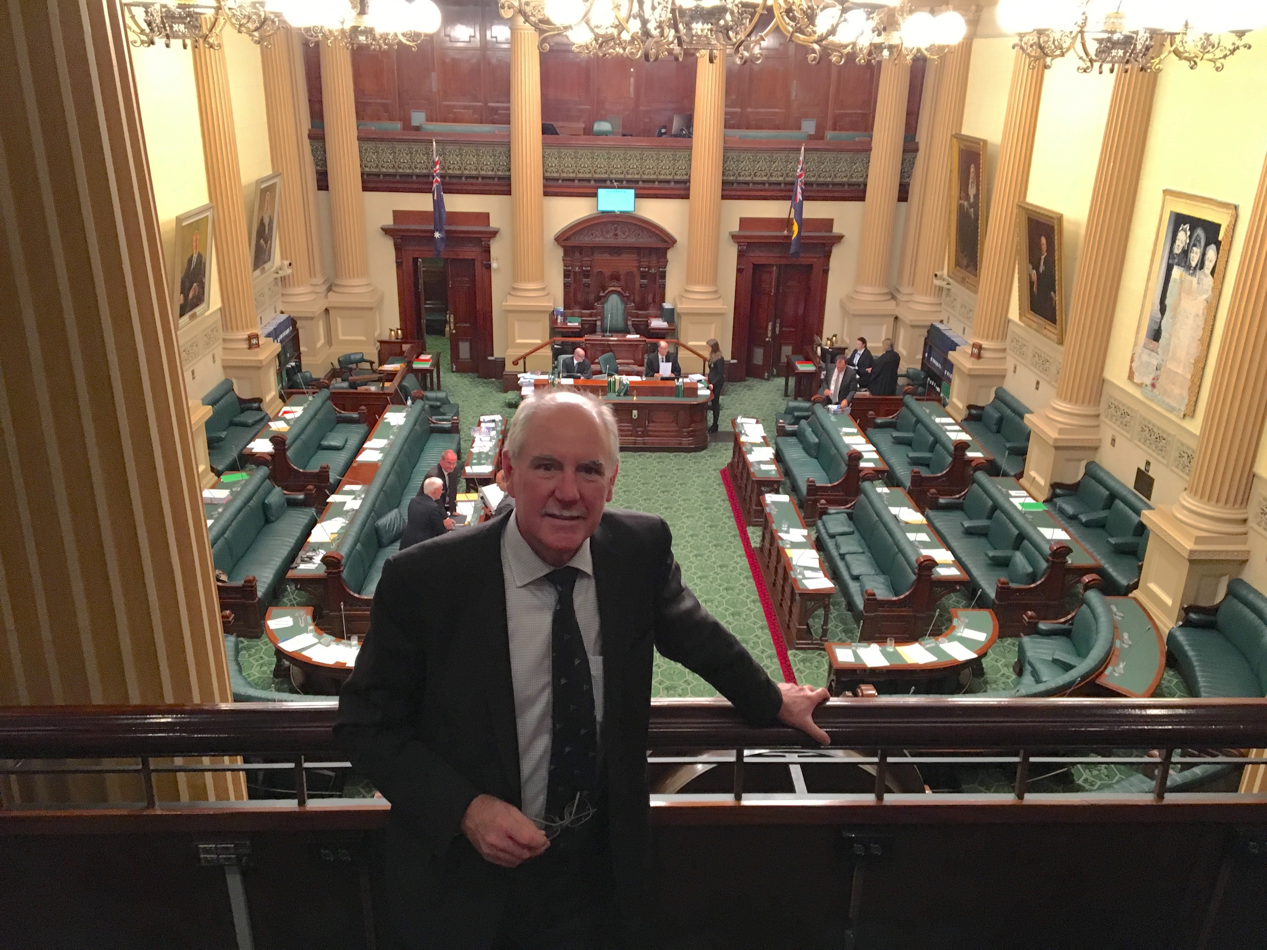 In Parliament House - understanding the system